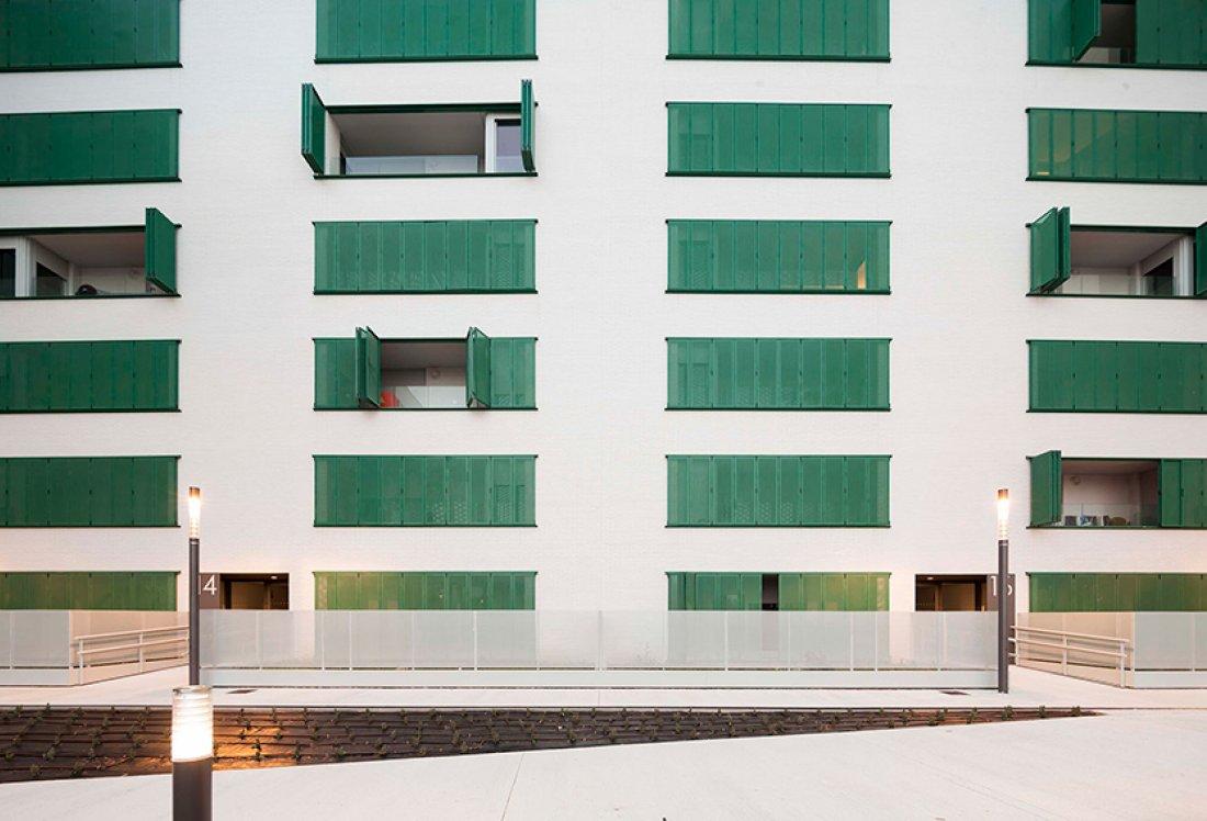 apezteguia architects_70VPO Arrosadia_Alzado sur