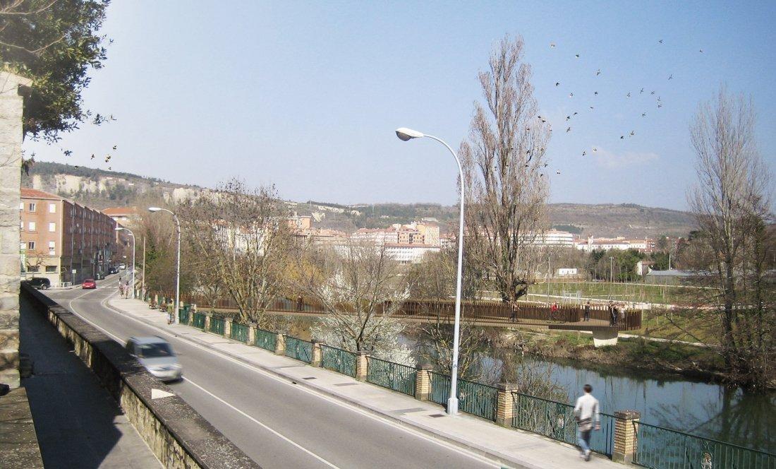 Pasarela peatonal de conexión Aranzadi - Rochapea_APEZTEGUIA ARCHITECTS_1