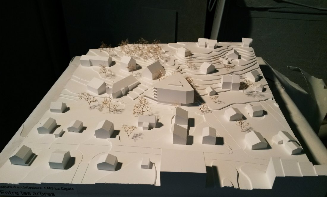 EMS LA CIGALE_LAUSANA_MODEL 2_APEZTEGUIA Architects