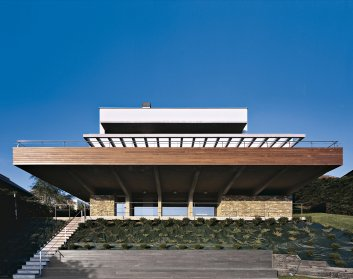 Vista exterior. Gorraiz 2. Apezteguia Architects